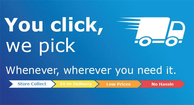 You Click, We Pick