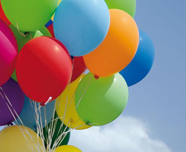 Helium Balloon Gas
