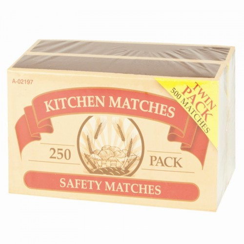 Jumbo Safety Matches - 2 Pack