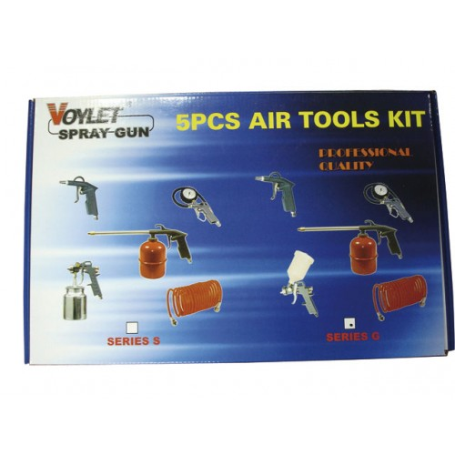 VOYLET 5PC AIR TOOLS KIT