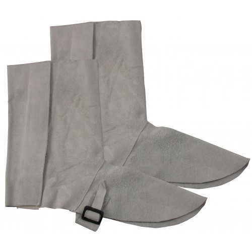 CHROME LEATHER GAITERS