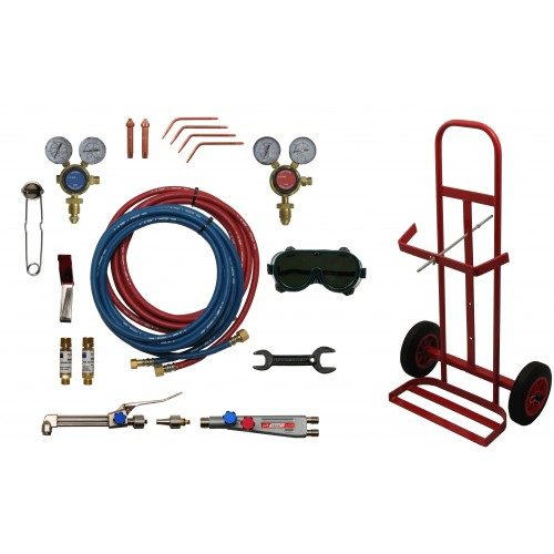 PORTABLE WELDING AND CUTTING SET