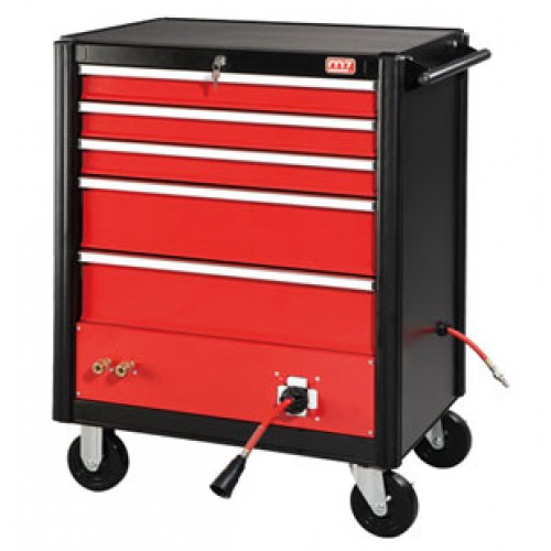 CABINET WITH AIR HOSE REEL