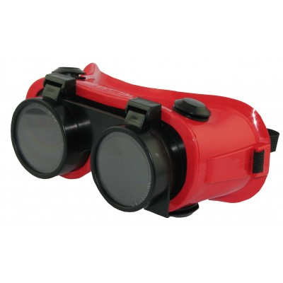 Flip-Up Goggles 2 LENS - Shade 5 (RED)