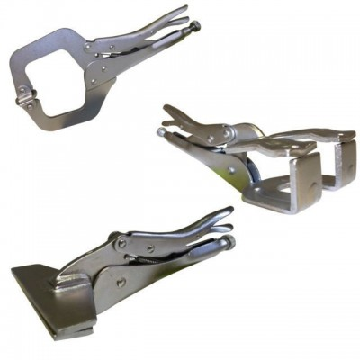 3PCE Welding Clamps - Mixed Set