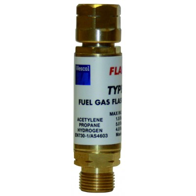 FLASHBACK ARRESTOR FUEL