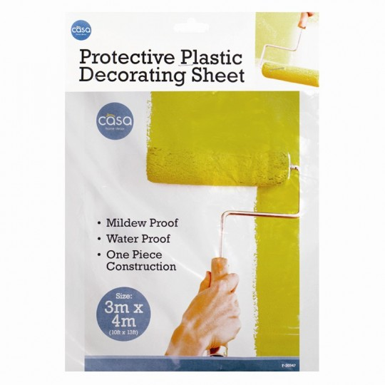 PROTECTIVE PLASTIC SHEET