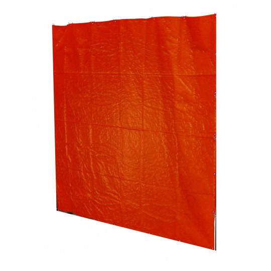 PVC ORANGE CURTAIN