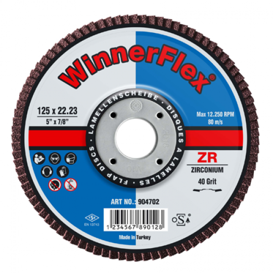 Flap Discs Coned - 10 Pack