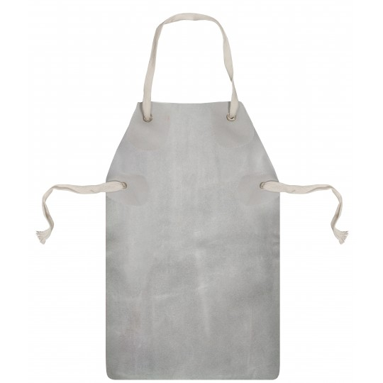 "CHROME LEATHER APRON & TIES (24"" X 42"")"