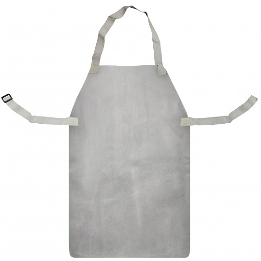 "CHROME LEATHER APRON & BUCKLE (24"" X 36"")"