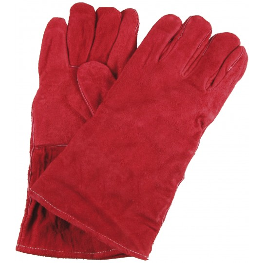 WELDERS ECONOMY GAUNTLET - RED