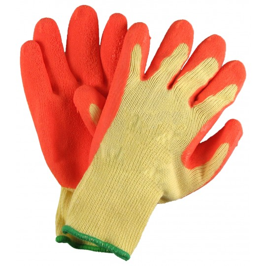 GRIPPER GLOVES - ORANGE