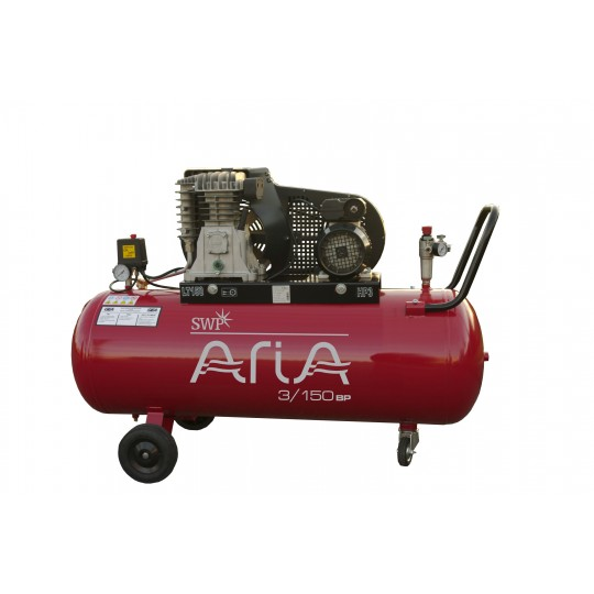 ARIA PORTABLE BELT DRIVEN COMPRESSOR 3/150BP