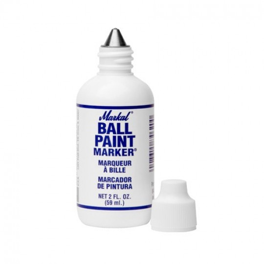BALL PAINT MARKER - WHITE