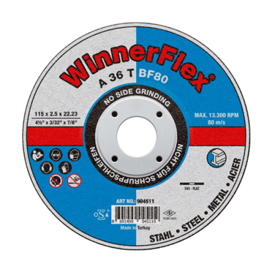 Flat Cutting Discs - 25 Pack