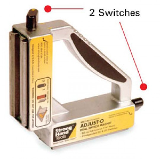 STRONG HAND 90° DUAL SWITCH MAGNET