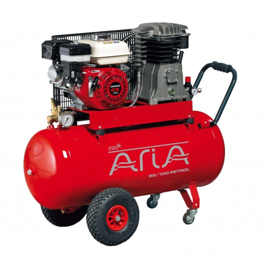ARIA BELT DRIVEN PETROL COMPRESSOR 100L
