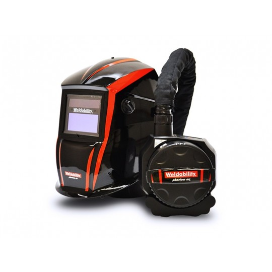 Welding Helmet And PAPR Combination