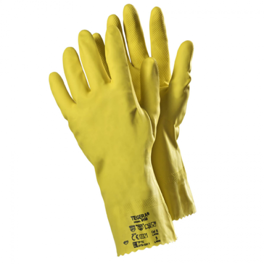 Latex Chemical Gloves