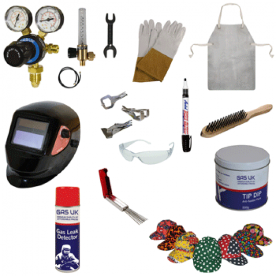 TIG WELDERS STARTER KIT